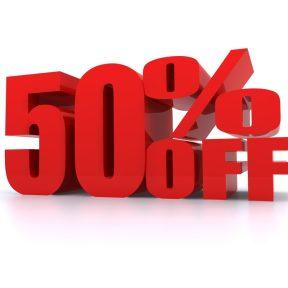 Έκπτωση έως 50% στις μάρκες  Diesel, Supra, Geox, Superga και Desigual