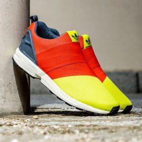 adidas Originals ZX Flux Slip On Κίτρινα – Κόκκινα