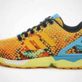 """Adidas ZX Flux """"Tropical Scales"""""""