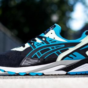 Asics Gel Kayano Trainer – Black – Atomic Blue