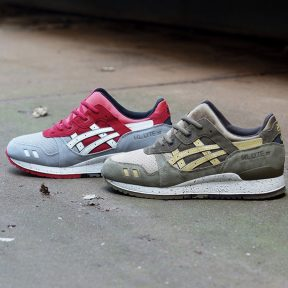 Asics Gel Lyte 3 Crane & Turtle Pack
