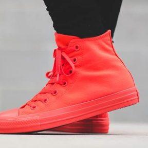 """Converse Chuck Taylor All Star """"Bright Crimson"""""""