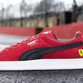 Puma Suede Ferrari 10 year Anniversary